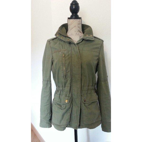 Übergangsjacke von H&M Baumwolle - casual Gr. 36