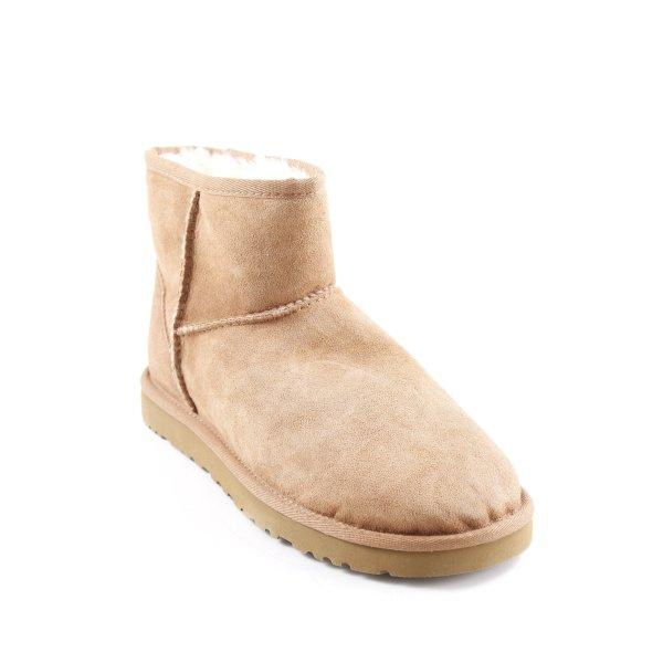 UGG Australia Ankle Boots hellbraun Casual-Look