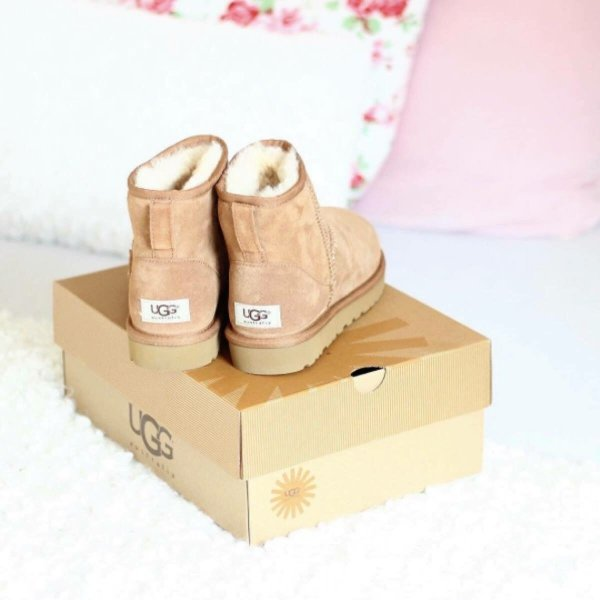 ugg boots rosa neu und original