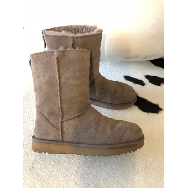 Ugg Boots Mode Schuhe Stiefel 38 Stiefeletten Rose grau rosa