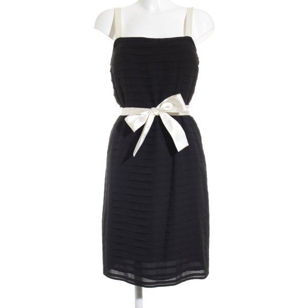 Un Deux Trois Abendkleid schwarz-creme Elegant