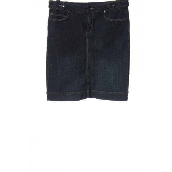 denim essentials Jeansrock blau Casual-Look