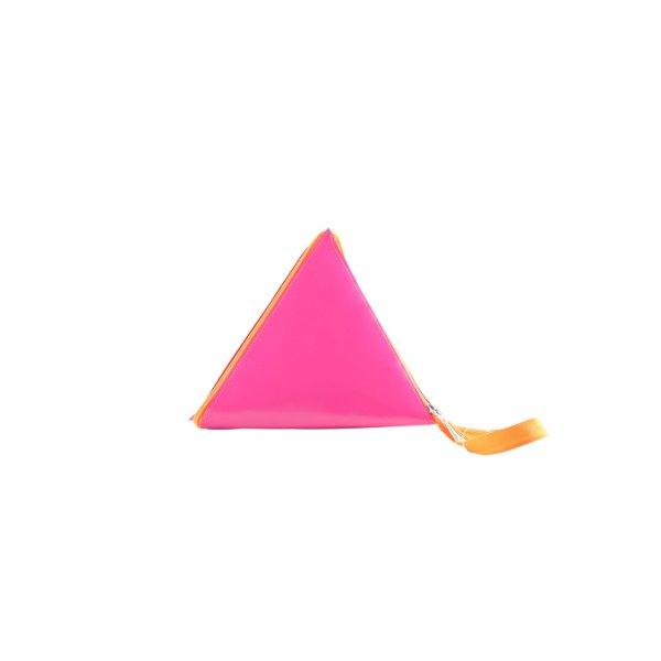Minitasche pink-hellorange Casual-Look