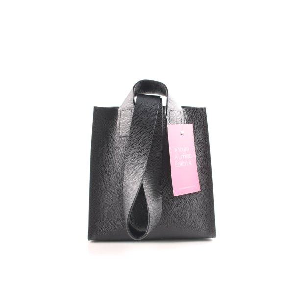 Minitasche schwarz Business-Look