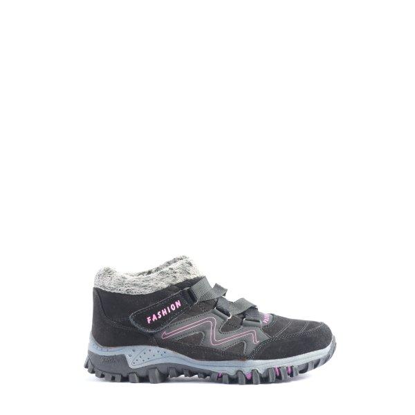 Sneaker Klettverschluss Schriftzug gedruckt Casual-Look