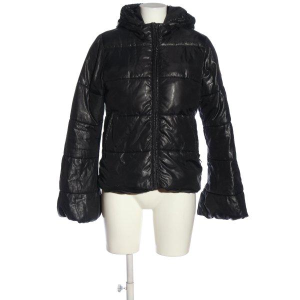 Übergangsjacke schwarz Casual-Look