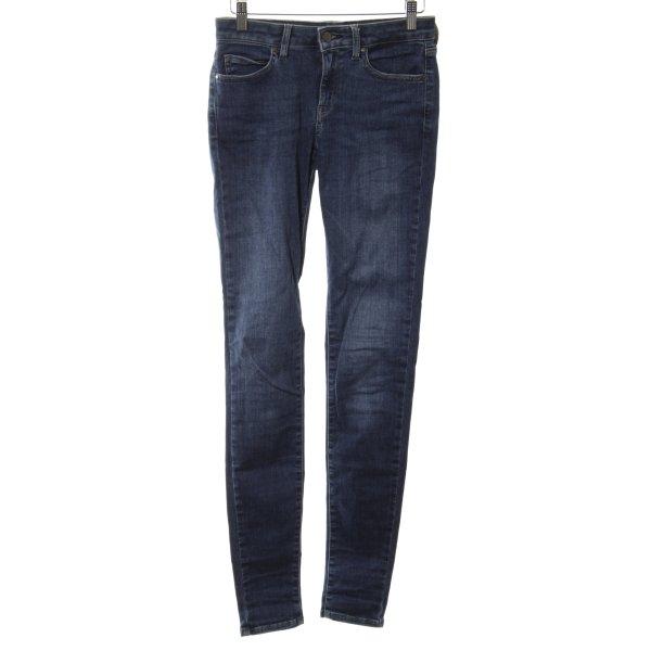 Uniqlo Skinny Jeans blau Casual-Look