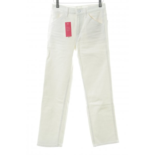 Uniqlo Slim Jeans weiß Casual-Look