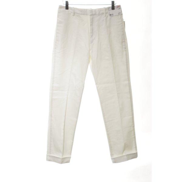 Uniqlo Straight-Leg Jeans wollweiß Business-Look