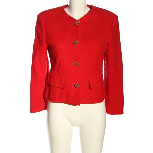 United Colors of Benetton Woll-Blazer rot Elegant