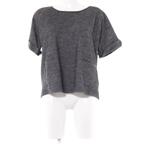 UNQ Oversized Shirt meliert Casual-Look