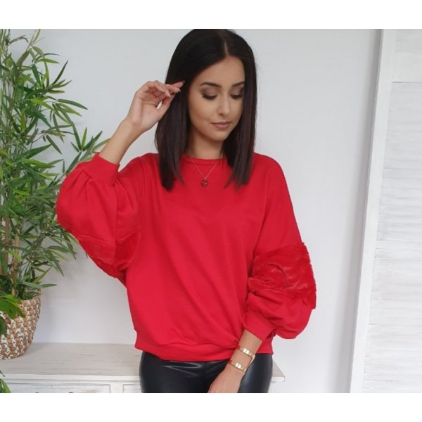 UNSERE TOP☆Oversize Bluse MOCHY