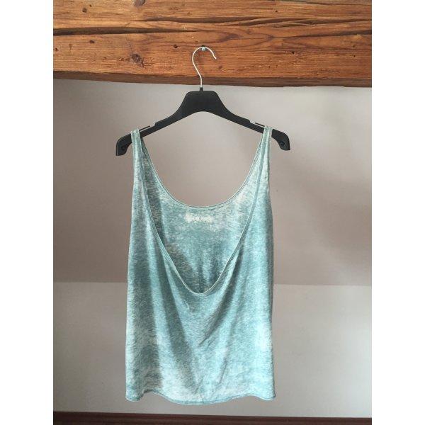 Urban outfitters tie dye meliert M 36 38 rückenfrei Shirt Top Mouchette