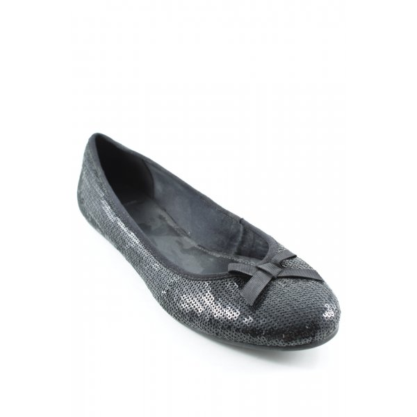 Vagabond Riemchen Ballerinas schwarz Elegant