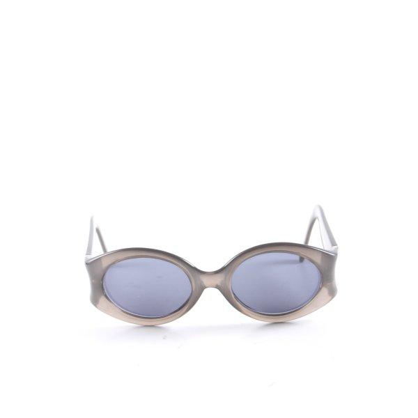 Valentino Oval Sunglasses light grey casual look