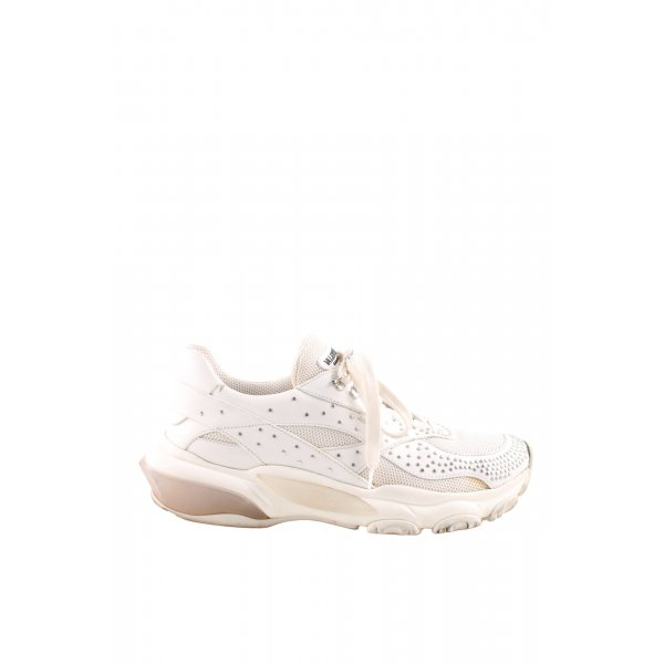 """Valentino Schnürsneaker """"Low-Top Studded Bounce Sneakers White"""""""