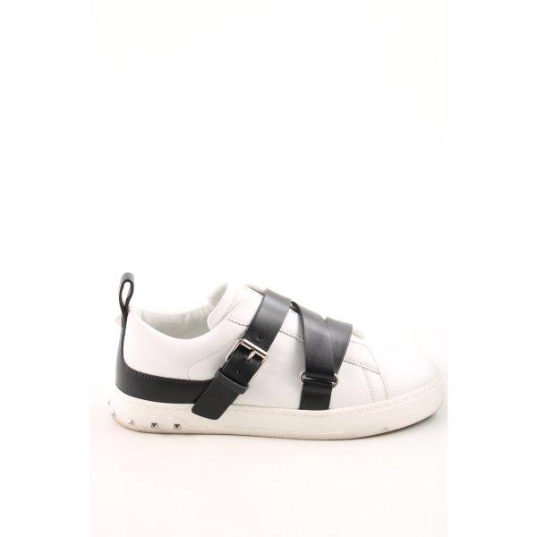 "Valentino Sneaker Klettverschluss ""Trainers V Punk White/Black"""