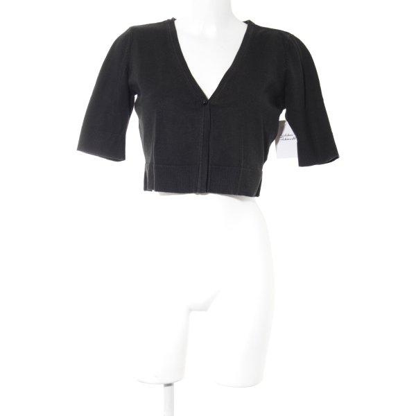 Vero Moda Cardigan schwarz schlichter Stil