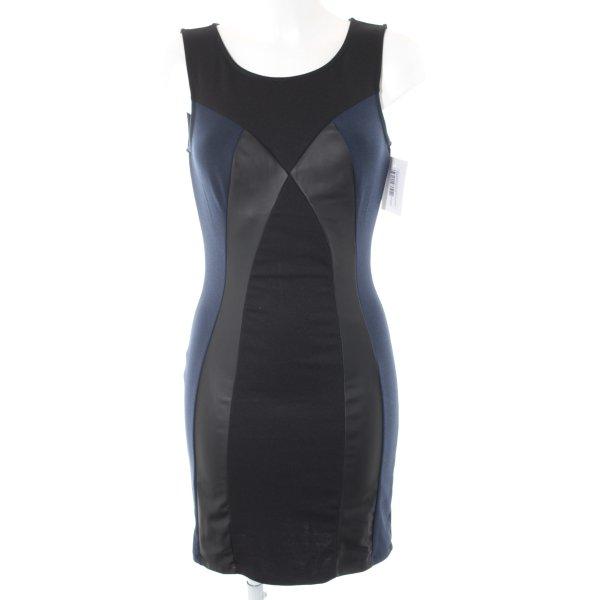 Vero Moda Etuikleid schwarz-dunkelblau Farbverlauf Casual-Look