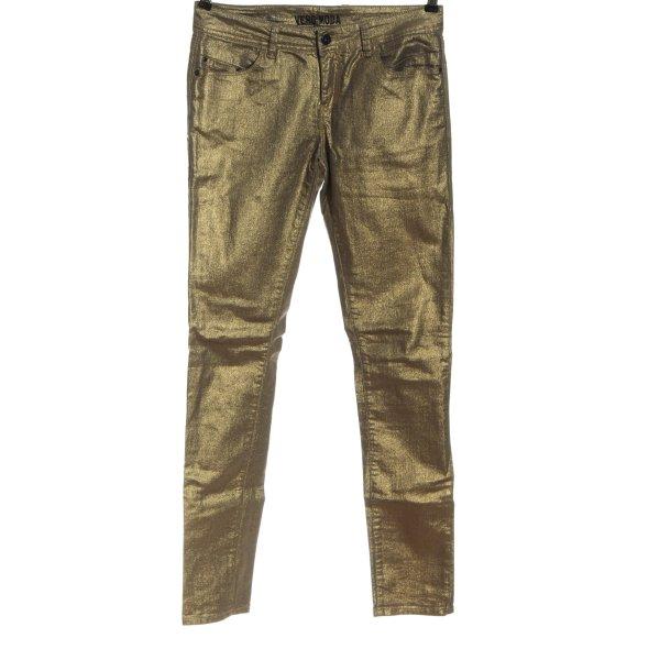 Vero Moda High Waist Jeans bronzefarben extravaganter Stil