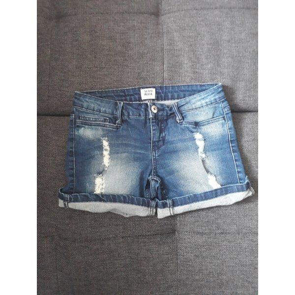Vero Moda Jeans Short Destroyed Gr. 26