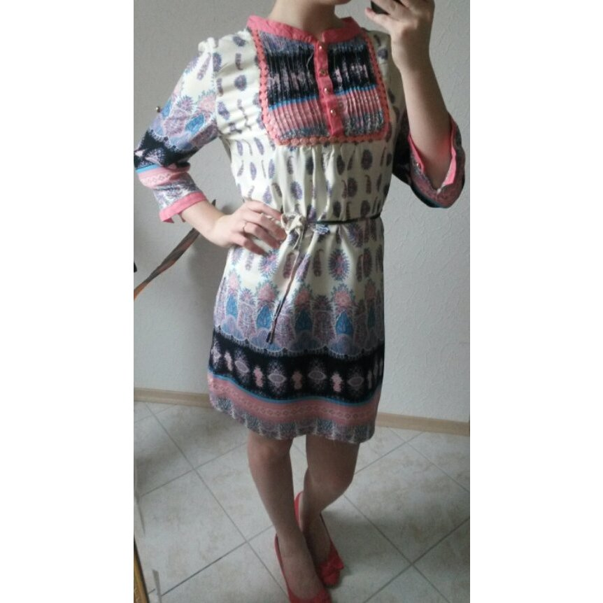 Vero Moda Kleid bunt 36/38
