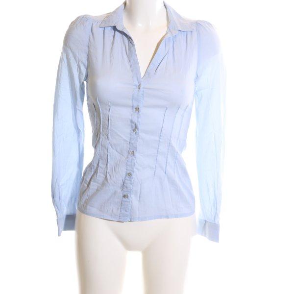 Vero Moda Langarm-Bluse blau Business-Look