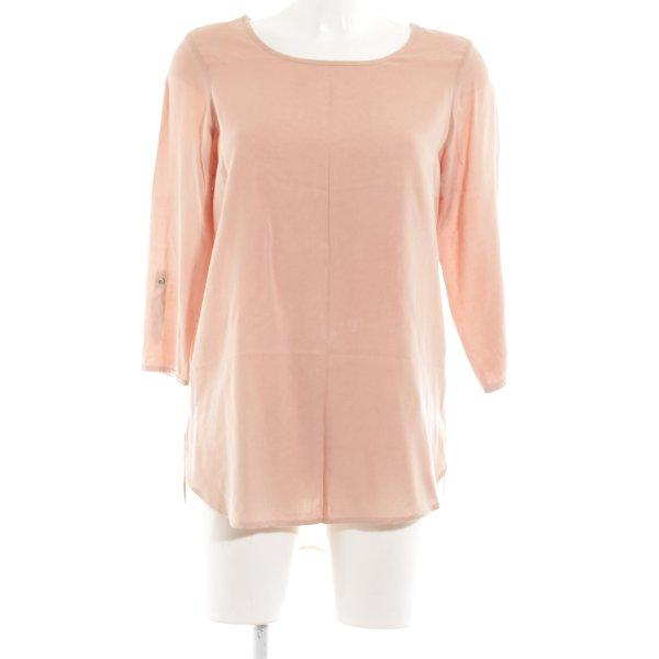 Vero Moda Langarm-Bluse creme Casual-Look