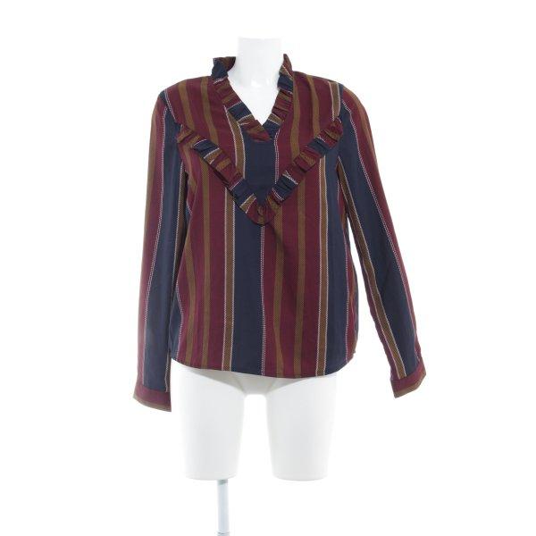 Vero Moda Langarm-Bluse Streifenmuster