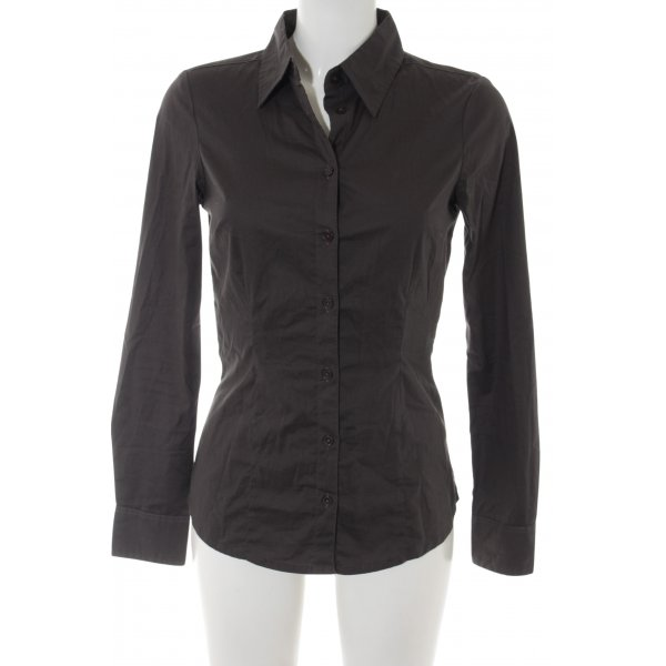 Vero Moda Langarm-Bluse taupe Business-Look