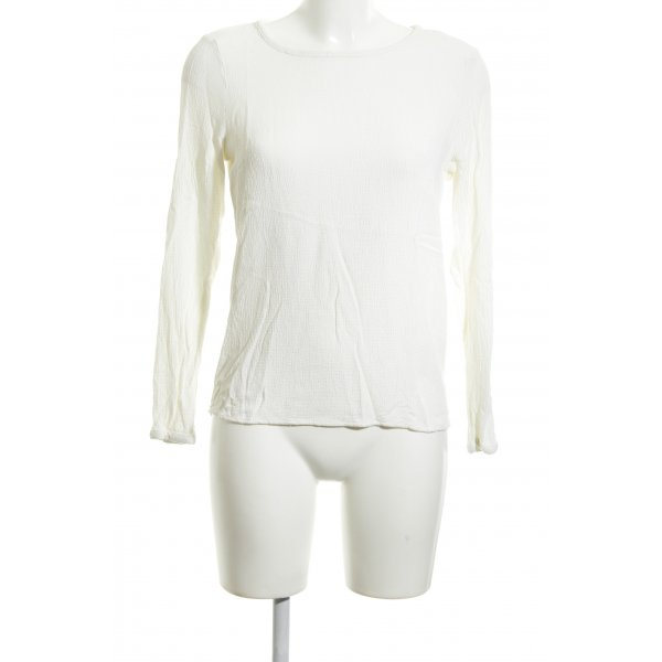 Vero Moda Langarm-Bluse weiß Casual-Look