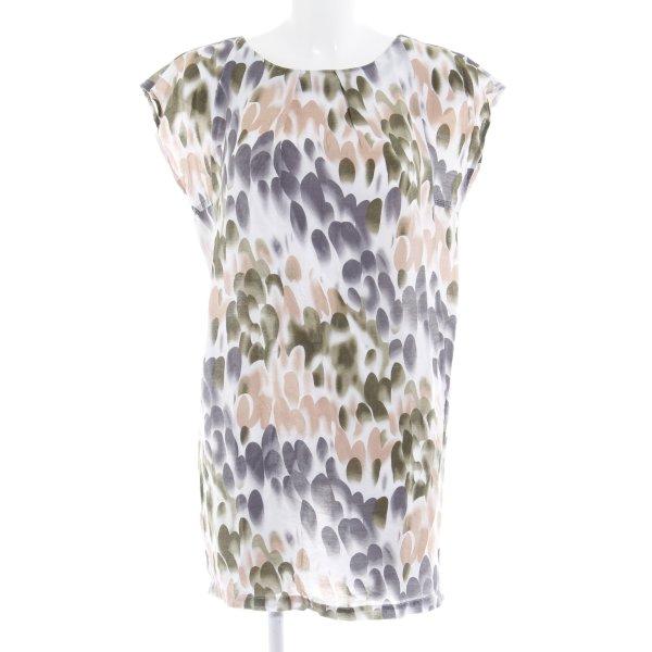 Vero Moda Long-Bluse Allover-Druck Casual-Look