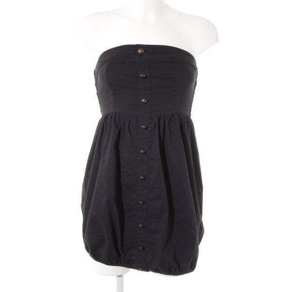 Vero Moda Off the shoulder jurk zwart casual uitstraling