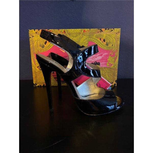 Versace for H&M stilettos Lackleder schwarz
