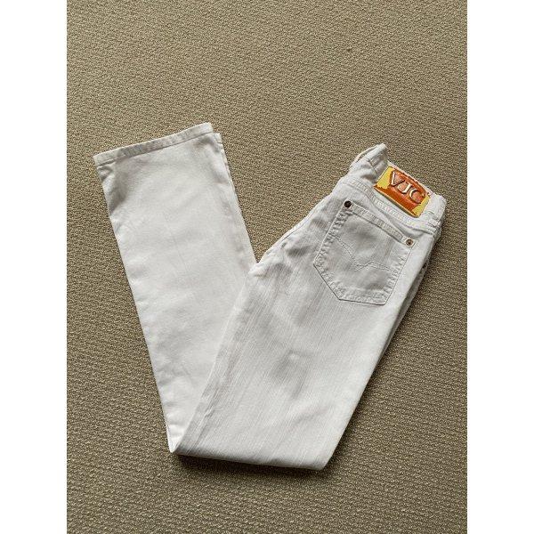 Versace Jeans Couture Damen Jeanshose Weiß 25/39