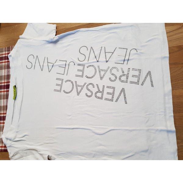 Versace Shirt mit Glitzersteinen