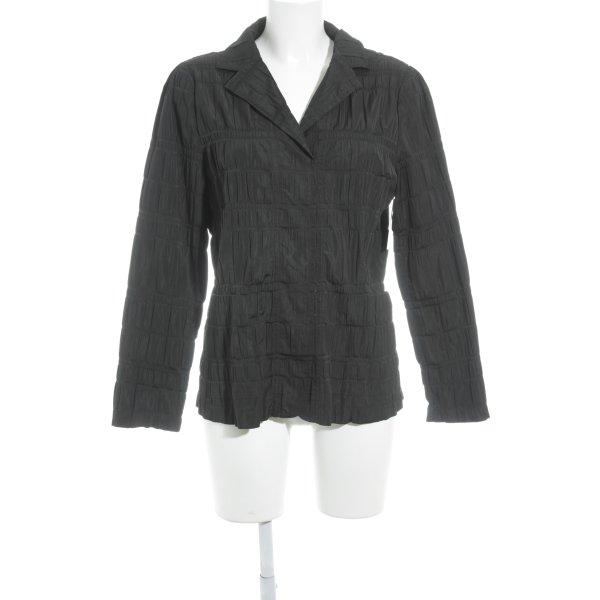 Verse Langarm-Bluse schwarz Casual-Look