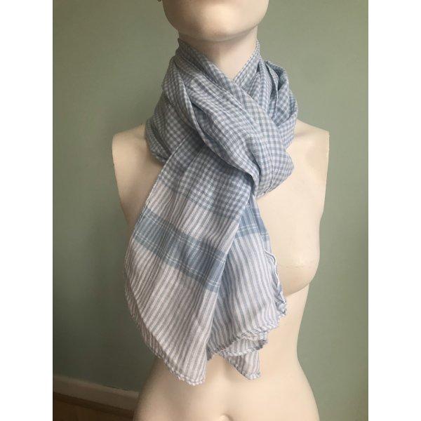 Vichykaro Schal aus Baumwolle