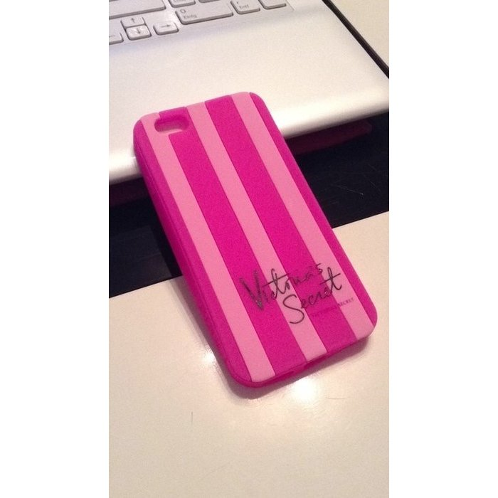 victoria secret iphone 6 stripes handyh lle case apple. Black Bedroom Furniture Sets. Home Design Ideas
