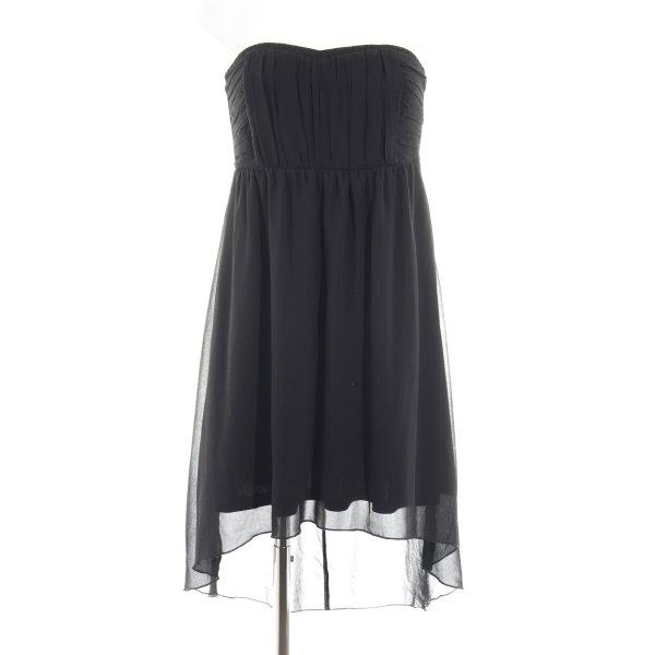 Vila Bustierkleid schwarz Elegant