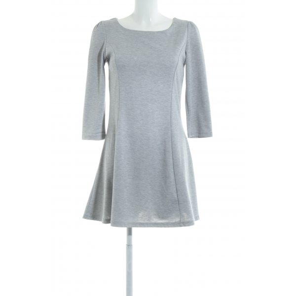Vila Longsleeve Dress light grey flecked casual look