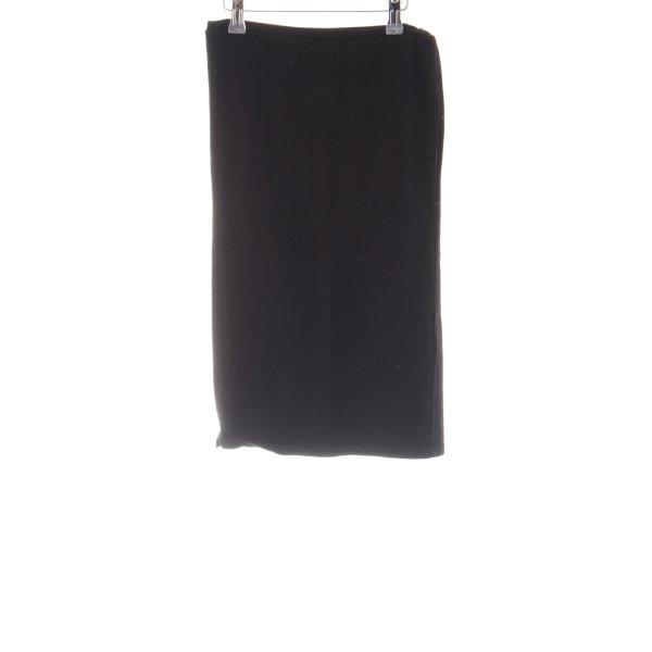 Vila Stretchrock schwarz Elegant