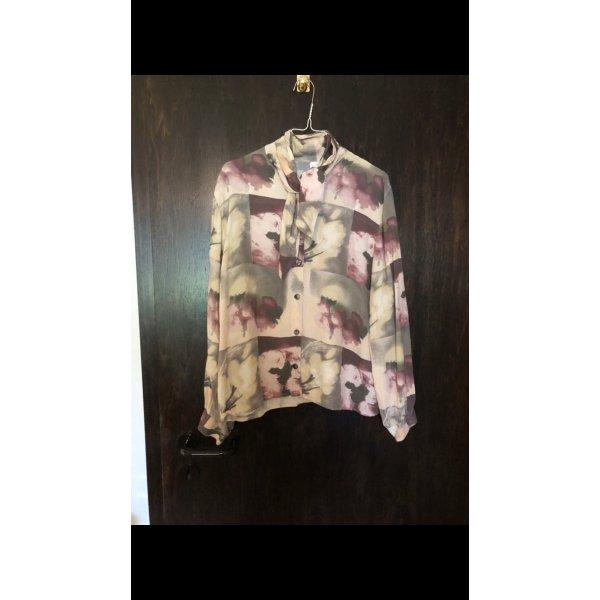 Vintage Bluse mit coolem Kragen