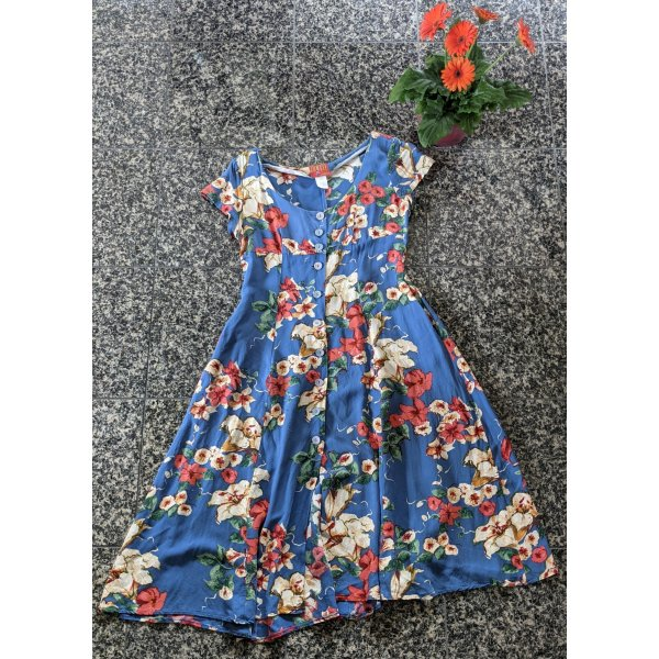 Vintage Kenzo Jungle Floral Kleid
