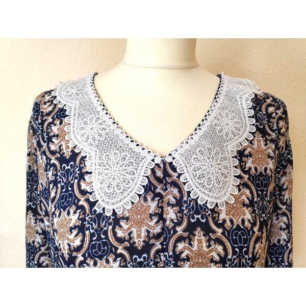 Vintage Kleid mit schönem Spitzenkragen