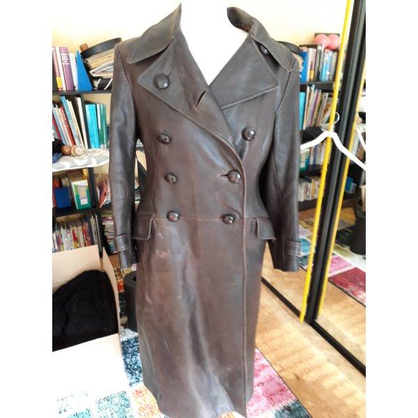 Modern vintage Leren jas veelkleurig