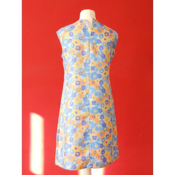 """Vintage Sommer Kleid """"Blumenaquarell"""" Gr. 40"""