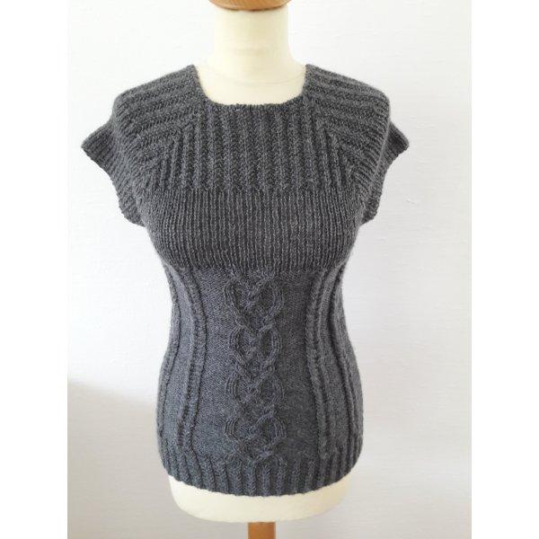 vintage Strick Pullover Shirt Pullunder XS S