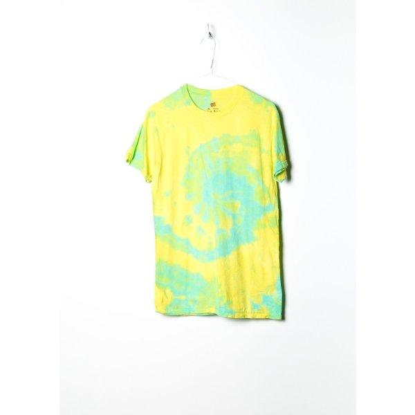Vintage Unisex Tie Dye in Gelb