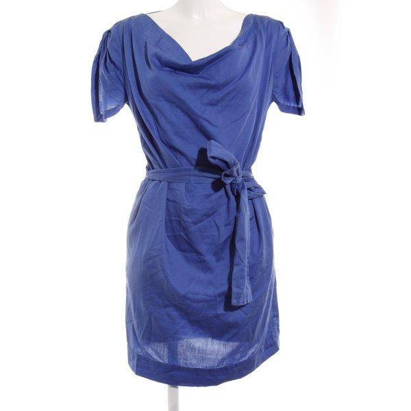 Vivienne Westwood Kurzarmkleid blau Casual-Look